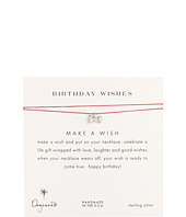 Dogeared Jewels - Make A Wish Birthday Necklace