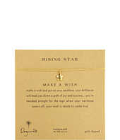 Dogeared - Make A Wish Rising Star Necklace