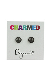 Dogeared Jewels - Charmed Earring Peace Sign