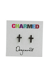 Dogeared Jewels - Charmed Earring Cross
