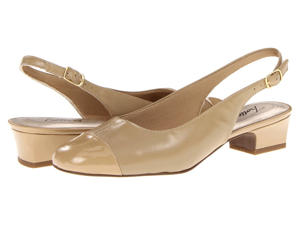 Trotters - Dea (Nude) Womens 1-2 inch heel Shoes