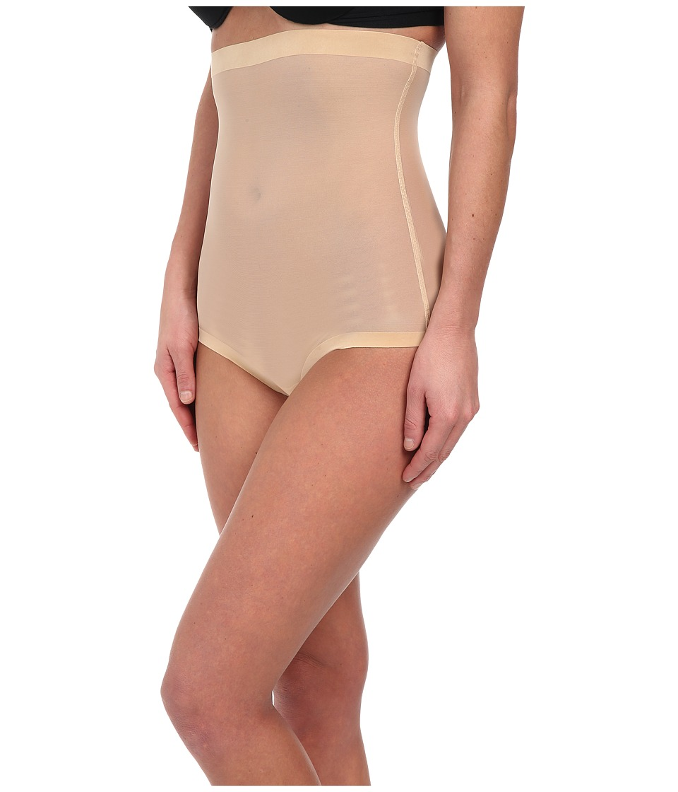 Wolford Tulle Control Panty High Waist (Nude) Women's Lin...