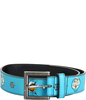 Cheap Quiksilver Kids Filter Belt Youth Cyan