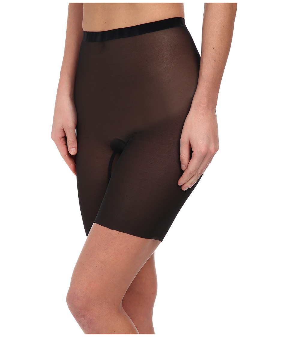Wolford - Tulle Control Shorts (Black) Womens Lingerie