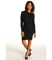 Three Dots - L/S Shirred Dress