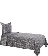 Elite - Tuscan Paisley/Yardley Reversible Print Duvet Set - Twin