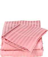 Elite - Wrinkle Resistant Stripe Sheet Set - Full