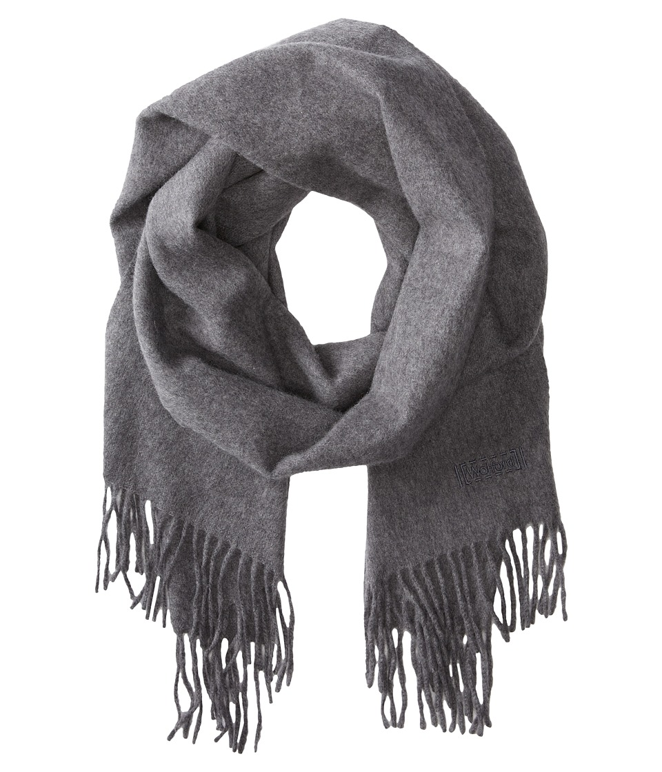 Wolford Cape Cod Cashmere Scarf Grey Mele Scarves