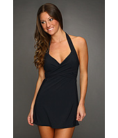 Calvin Klein - Solid Crossover Swimdress