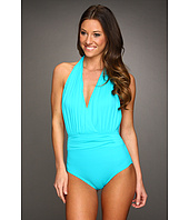 Calvin Klein - Solid Halter One Piece