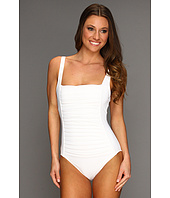 Calvin Klein - Pleated Front One-Piece Swimsuit
