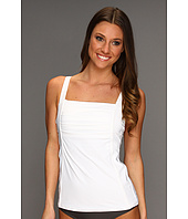 Calvin Klein - Pleated Tankini Top