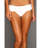 Calvin Klein - Pleated Foldover Full Coverage Bikini Bottom
