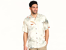 Tommy Bahama - Dashing Through The Palms S/S Woven (Coconut) - Apparel