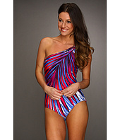 Badgley Mischka - Provence One Shoulder Maillot