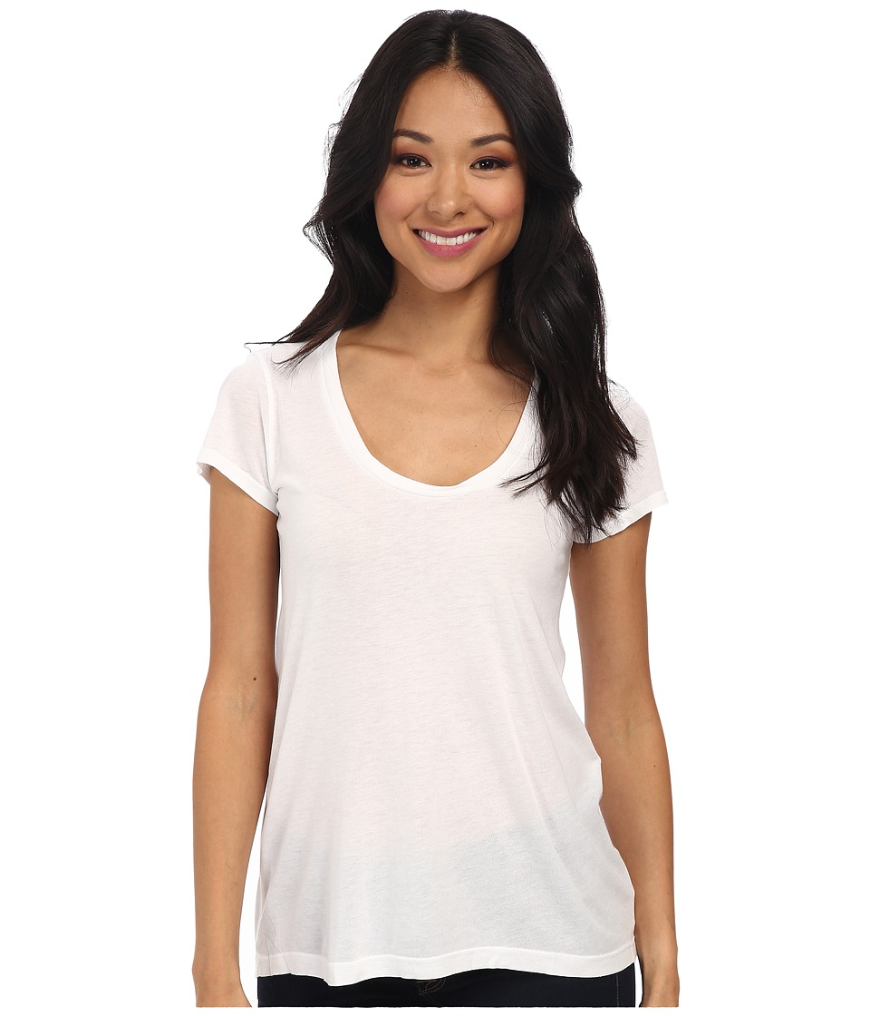 Splendid New Basic Tee (White) Women