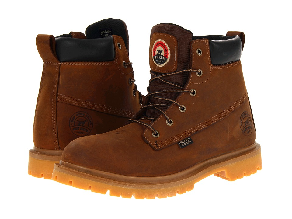 Irish Setter 6 Brown WP Brown Mens Work Boots