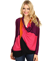 Christin Michaels - Marge Draped Top