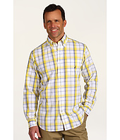 Nautica - L/S Poplin Medium Plaid Shirt