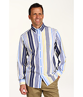 Nautica - L/S Large Blanket Stripe Button Down Shirt