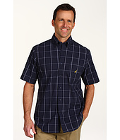 Nautica - S/S Windowpane Button-Down Shirt