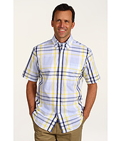 Nautica - S/S Large Scale Striped Plaid Shirt