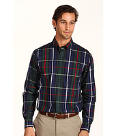 Nautica - L/S Wrinkle Resistant Poplin Large Plaid Shirt