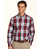 Nautica - L/S Poplin Plaid Shirt