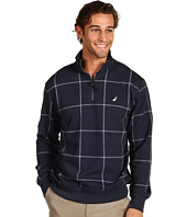 Nautica - CVC Windowpane 1/4 Zip Fleece