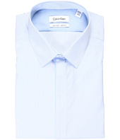 Calvin Klein - Slim Fit Non-Iron Blue Stripe Dress Shirt