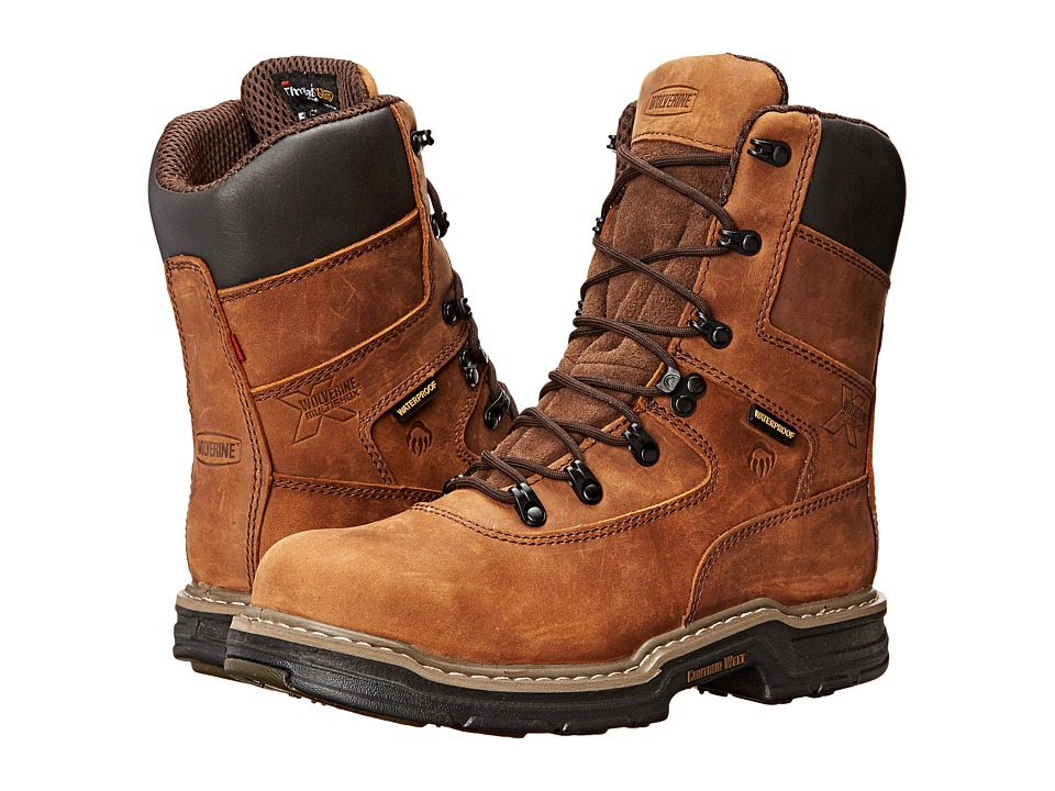 Wolverine Marauder Multishox Waterproof 8 Steel Toe Boot ...