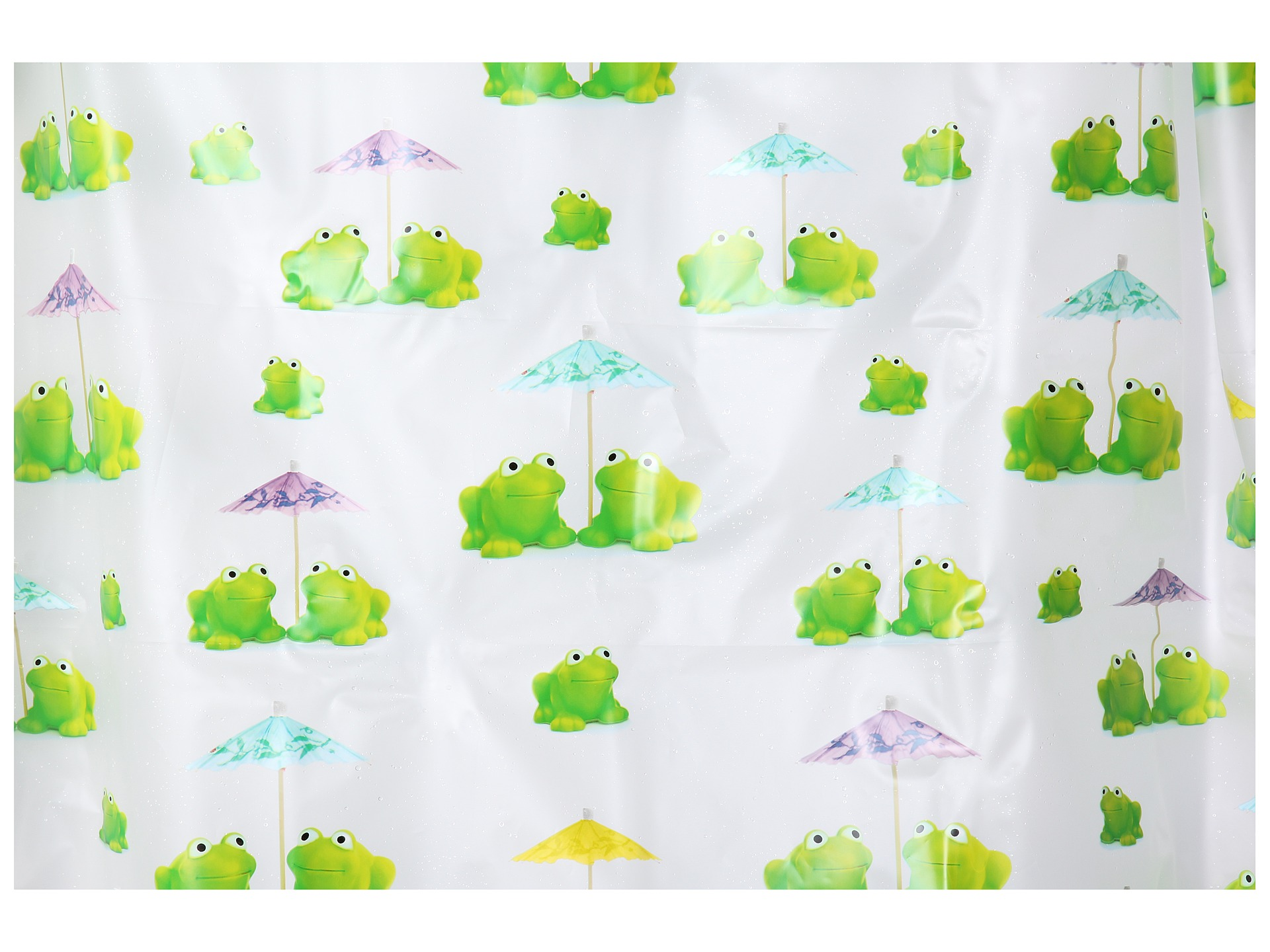 No results for interdesign frogs shower curtain multi for Inter designs