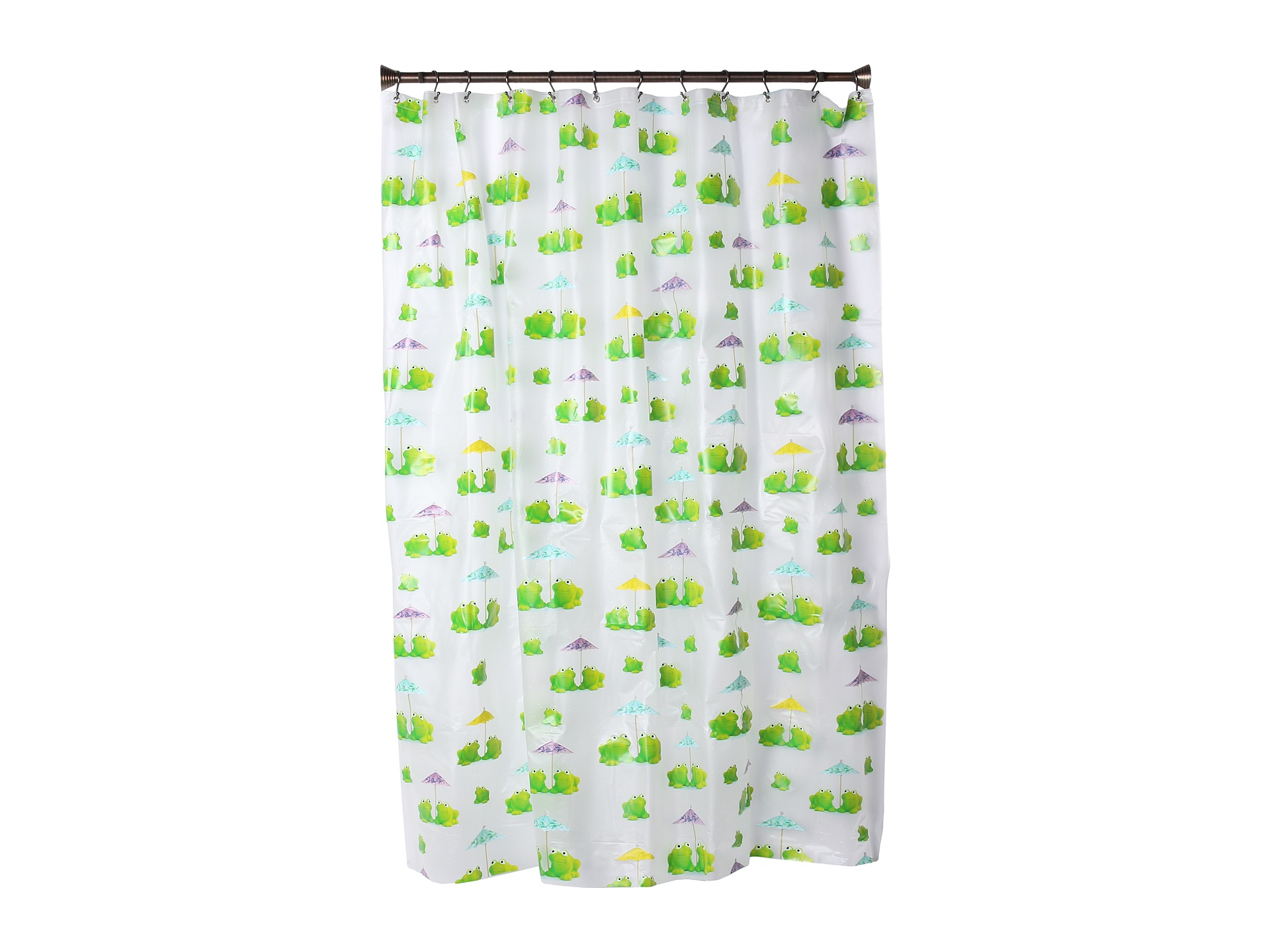 No Results For Interdesign Frogs Shower Curtain Multi