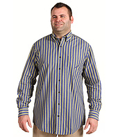 Nautica Big & Tall - Big & Tall L/S Traditional Bold Stripe Shirt