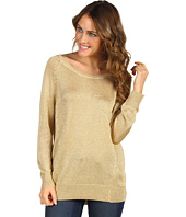 Vince Camuto - High Low Lurex Sweater