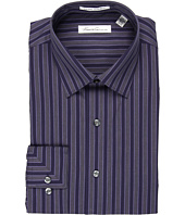 Kenneth Cole New York - Non-Iron Regular Stripe L/S Dress Shirt