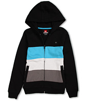 Quiksilver Kids - Crazy Straw Full Zip Fleece Hoodie (Big Kids)
