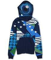 Quiksilver Kids - So Sick Full Zip Fleece Hoodie (Big Kids)