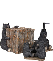Avanti - Black Bear Lodge 3-Piece Bath Accessory Set