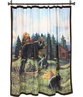 Avanti - Black Bear Lodge Shower Curtain