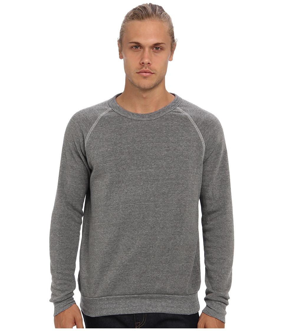 Alternative Champ Eco Fleece Sweatshirt Eco Grey Mens Long Sleeve Pullover