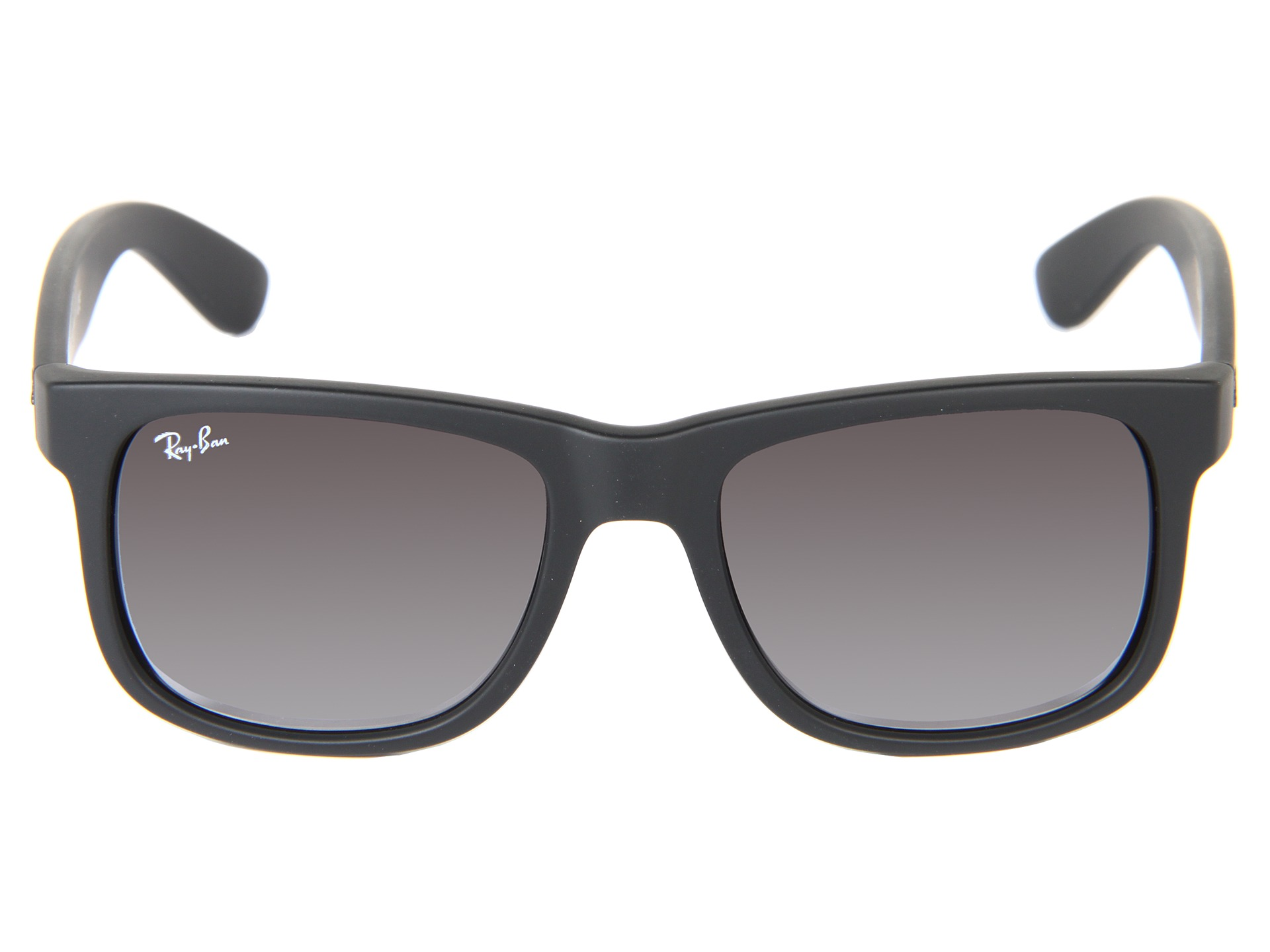 ray ban justin vs wayfarer  ray ban rb4165 justin p square boyfriend 51mm zappos free shipping both ways