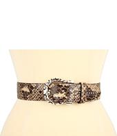 Cheap Brighton Femme Fatale 1 1 2 Belt Sand Python