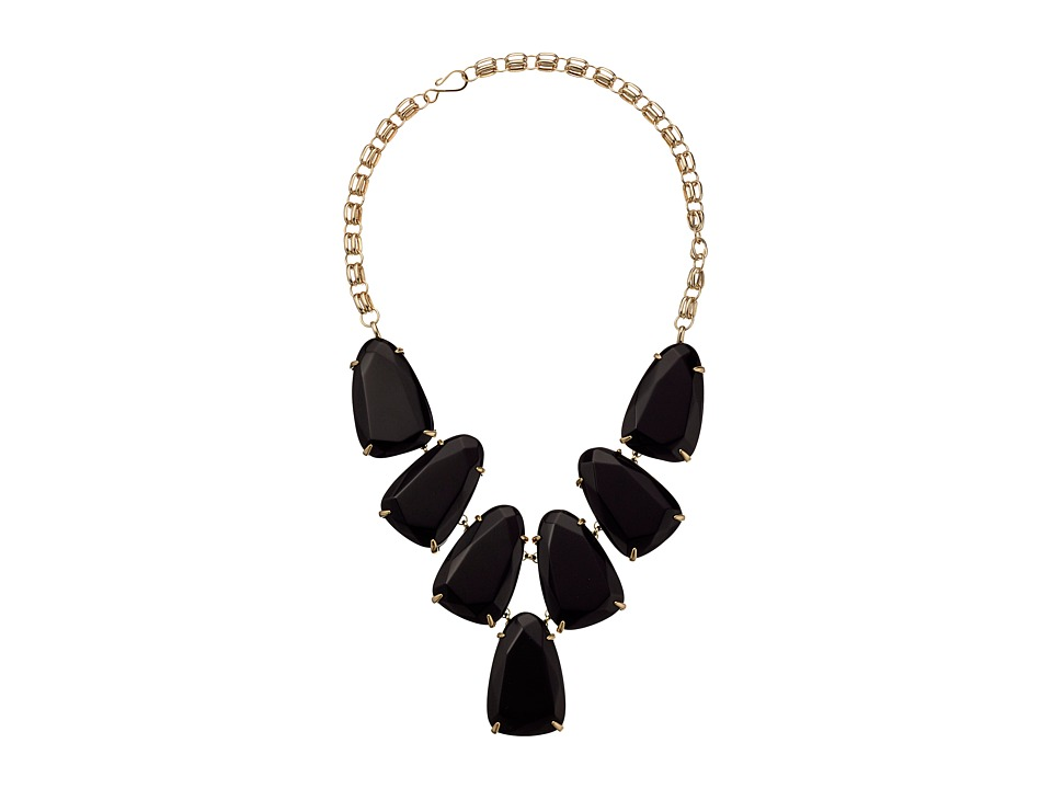 Kendra Scott Harlow Necklace (Black Onyx) Necklace
