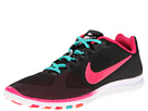 Nike - Free Advantage Printed Polka Dots (Black/Sport Turquoise/Total Crimson/Pink Force) - Footwear