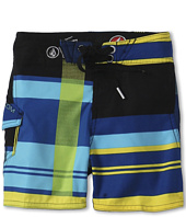 Volcom Kids - Maguro Half Plaid Boardshort (Toddler/Little Kids)