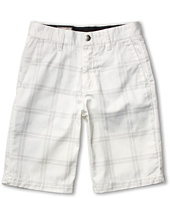 Volcom Kids - Frickin' Plaid Chino Short (Big Kids)