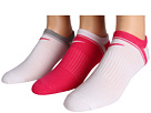 Nike - Classic No Show 3-Pair Pack (White/Pink Force/Pink Force/White/White/Dark Grey Heather)