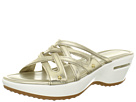 Cole Haan - Air Ezra Slide (White Gold Metallic) - Footwear