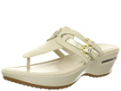 Cole Haan - Air Melissa Buckle Thong (Ivory/White Gold) - Footwear